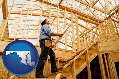 maryland a custom home builder reviewing construction plans