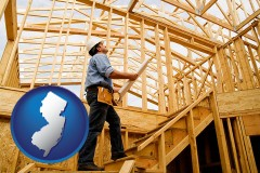 new-jersey a custom home builder reviewing construction plans
